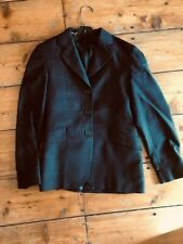 Rj Classics Charcoal Gray Plaid Youth Hunt Coat Size 12R *Vgc*