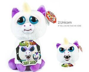 Hot Feisty Unicorn Evil Glitterpoop Pets Roaring Scary Face Soft Stuffed Toy