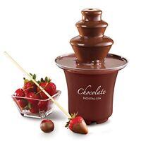 Máquina De Chocolate Fondue Fuente Eléctrico Para Cocinar Dulce Hogar Fiesta-NEW