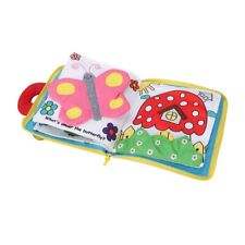 BRAND Intelligence Development Toy Cloth Cognize Bed Book Education Kid Baby Hot