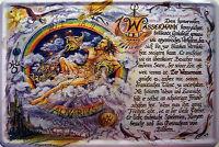 Sternzeichen Wassermann Blechschild Schild gewölbt Metal Tin Sign 20 x 30 cm