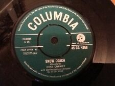 "RUSS CONWAY . SNOW COACH / TIME TO CELEBRATE . SEASONAL  XMAS 7"" SINGLE NR MINT"