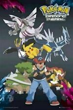 POKEMON ~ ASH DIAMOND AND PEARL FRIENDS 24x36 Cartoon Anime