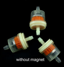 """10pcs Universal ABS Inline Gas/Fuel Filter 6MM-7MM 1/4"""" Lawn Mower Small Engine"""