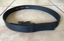 """NEW Black Leather Mechanic's Belt Size 38"""" Made in Mexico  """"No Scratch-No Spark"""""""