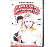 I Love You Beth Cooper DVD Movie