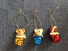 2004 Boyds Bears Bearstone Jingle Bell Ornaments - 3