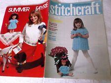 ORIGINAL, VINTAGE, STITCHCRAFT MAGAZINE,  JULY 1971 No. 451