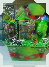 Ninja Turtle Gift Basket  Made By Norma's Unique Gift Basket