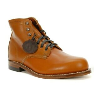 New Wolverine Men's 1000 Mile Boots Spice Leather W40590US Men 12D