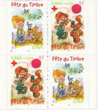 Bloc - Fête du timbre 2002 - 2 paires P3467A YT