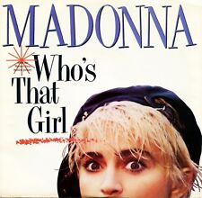 """MADONNA """"Who's That Girl"""" (45 RPM) 7"""" Vinyl Record w/ Picture Sleeve MINT"""