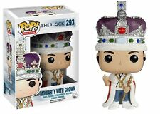 Funko POP Television Sherlock Moriarty With Crown Vinyl Figure 293 Brand New