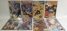 STAR TREK ORIGINAL SERIES / NEXT GENERATION : SET OF 8 DC COMICS