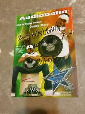 Daddy Mory French Reggae Star Autographed Mini Poster 8-1/4 x 11-3/4