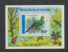 Liberia - 1977, Wild Birds sheet - MNH - SG MS1313