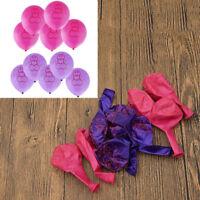 Funny Balloons Night Hen Party Decor Latex Bachelorette Supplies 10 Pcs/1 Set