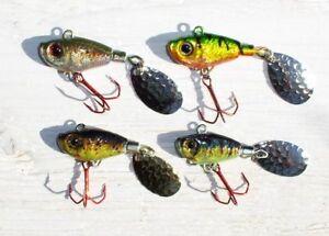 Profi Blinker Spinner Jig 10,13,16,19 Gramm, Fisch-Colors, toll gemacht, Zocker