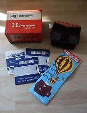 Vintage View-Master 3-dimensión Viewer (modelo E), en caja.