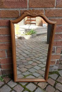 Spiegel für z. B. Garderobe mit Holzrahmen, gebraucht, aber super Zustand