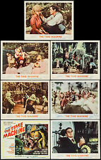 """Posters The Time Machine 1960). Title Card & Lobby Cards (6) 11""""x14"""" VF 7.5"""