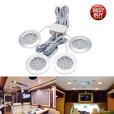 4x 12V Interior LED Spot Light For VW Camper Van Caravan Motorhome Boat light