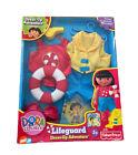 Dora The Explorer Dress-Lifeguard Adventure Outfit New MIB Damaged Box