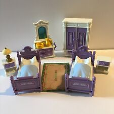 Playmobil Vintage Victorian Mansion 5325 Purple Bedroom