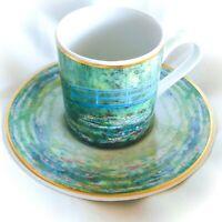 Goebel Demitasse Cup & Saucer Artis Orbis Claude Monet Le bassin aux nymphéas