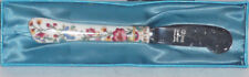 """RARE! DISCONTINUED COALPORT BONE CHINA MING ROSE BUTTER KNIFE 5 1/4"""" NEW IN BOX"""