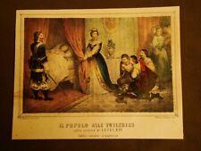Re Luigi XIV di Francia Misteri della Vita dei Borbone La Cecilia Anno 1859