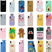3D Cute Cartoon Cover Case For iPhone 11 11 Pro 11 Pro Max XS Max XR XS X 8 7 6S