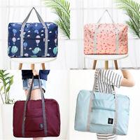 Portable Carry-on Travel Big Duffle Hand Luggage Shoulder Storage Foldable Bag