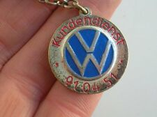 VINTAGE VOLKSWAGEN KEY RING ACCESSORY VW HEB COX KÄFER BUG BEETLE WINTER BADGE