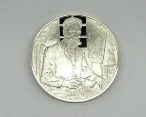 1974 Postmasters of America UNIVERSAL POSTAL UNION #7 Sterling Silver Medal Coin