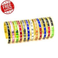 Men Speedometer Bracelet Stainless Steel Bangle Fashion Official Watch Style New