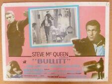 BULLITT  ORIGINAL 1968 SPANISH   LOBBY CARD FROM CINEMA