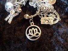 Love Yoga? Find Your ZEN Lotus Flower Charm for Weight Watchers Keychain!