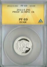 2011-S Proof Olympic National Park ANACS Authenticated PF 69
