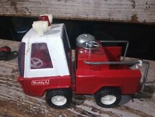 Vintage Buddy L Firetruck pressed steel 7 Inches Bell Japan