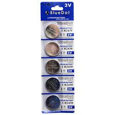 5 CR2430 DL2430 LM2430 BR2430 5011C ECR2430 E-CR2430 L20 LF1/2W Lithium battery