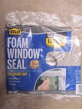 "1/8"" x 1/4"" x 17' Gray Foam Window Seal MD Building Products #02238  NEW"