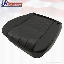 2006 F250 Harley-Davidson Passenger Bottom Perforated Leather Seat Cover BLACK