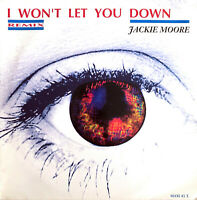 """Jackie Moore 12"""" I Won't Let You Down (Remix) - France (VG+/EX)"""