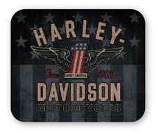 Harley-Davidson RWB #1 Wings Thick Neoprene Mouse Pad - 9.25 x 7.75 in. MO33812