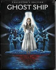 GHOST SHIP - 2002 Horror, Scream Factory Collector's Edition + Slipcover BLU RAY