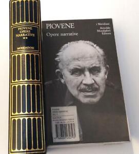 Piovene  Opere narrative  volume II  - i Meridiani Mondadori Editore  - 1976