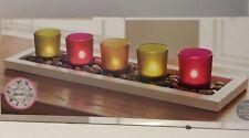 Unbranded Glass Modern Candle & Tea Light Holder Sets
