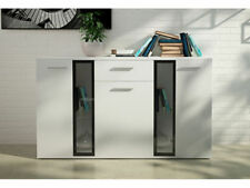 White Modern 60cm-80cm Height Sideboards, Buffets & Trolleys