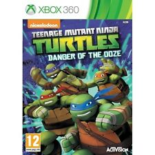 Teenage Mutant Ninja Turtles Danger of the Ooze Microsoft Xbox 360 PAL Brand New